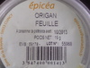 Origan Feuille - Product