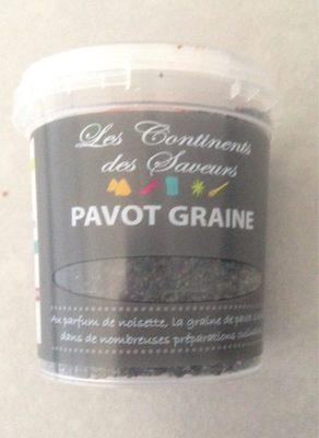 Pavot graine bleue - Product - fr