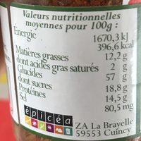 Piment D'espelette A.o.c - Ingrédients - fr