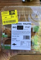 6 cakes fruits - Product