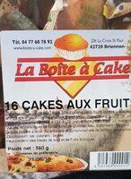 Cakes aux fruits - Product - fr