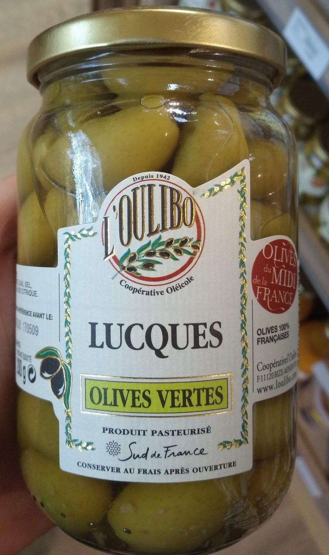 "Grüne ""Lucques"" Oliven Nature - Product - fr"