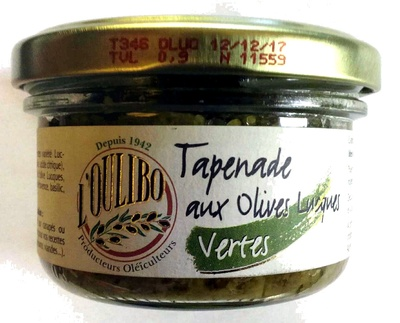 Tapenade aux Olives Lucques Vertes - Product