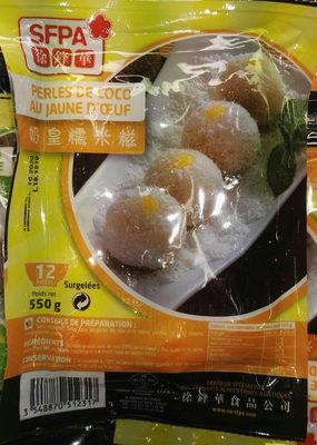 Perles de coco au jaune d'oeuf - Product