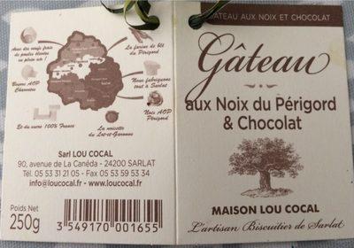 Gâteau aux Noix du Périgord & Chocolat - Product - fr