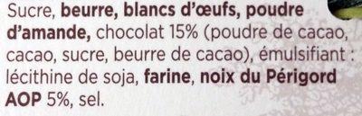 Gâteau aux Noix du Périgord & Chocolat - Ingredients - fr