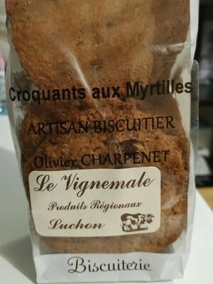 Croquants aux myrtilles - Product - fr