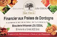 Financier aux Fraises de Dordogne - Product - fr