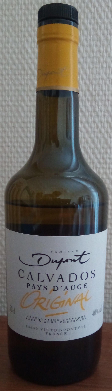 Calvados Pays d'Auge Original - Prodotto - fr