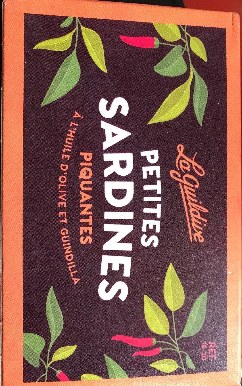 Petites sardines piquantes à l'huile d'olive et Guindilla - Produit