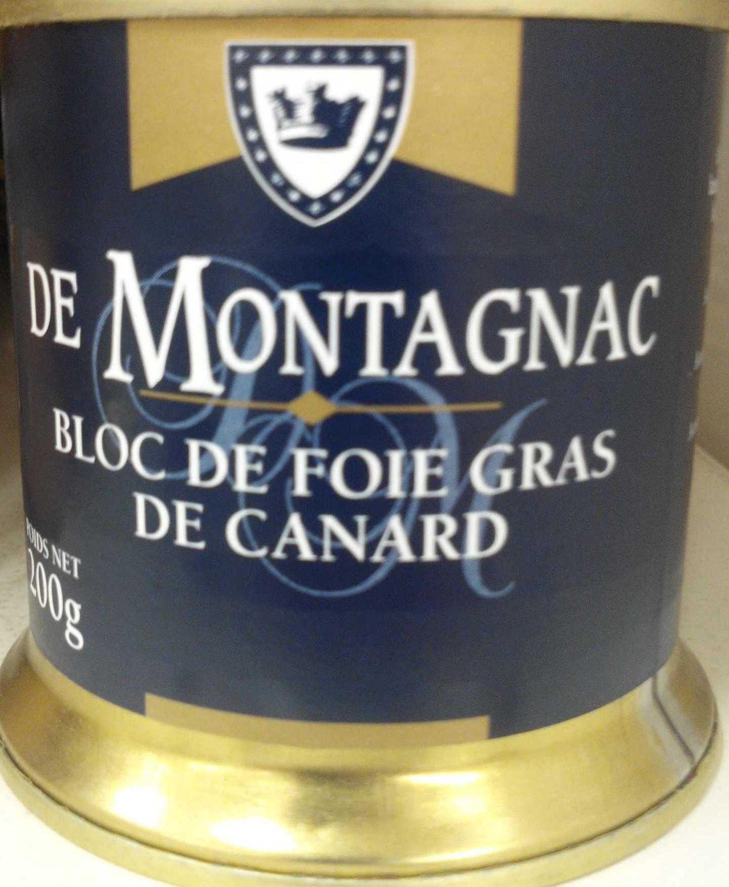 bloc de foie gras de canard de montagnaque 200 g. Black Bedroom Furniture Sets. Home Design Ideas