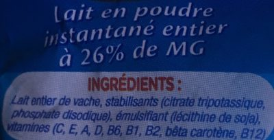 Laicran - Ingredienti - fr