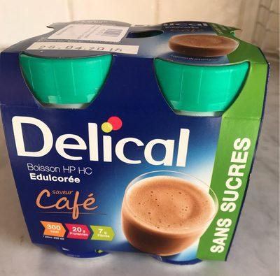 Delical Boisson HP-HC Sans Sucre Cafe 4X200ML - Product