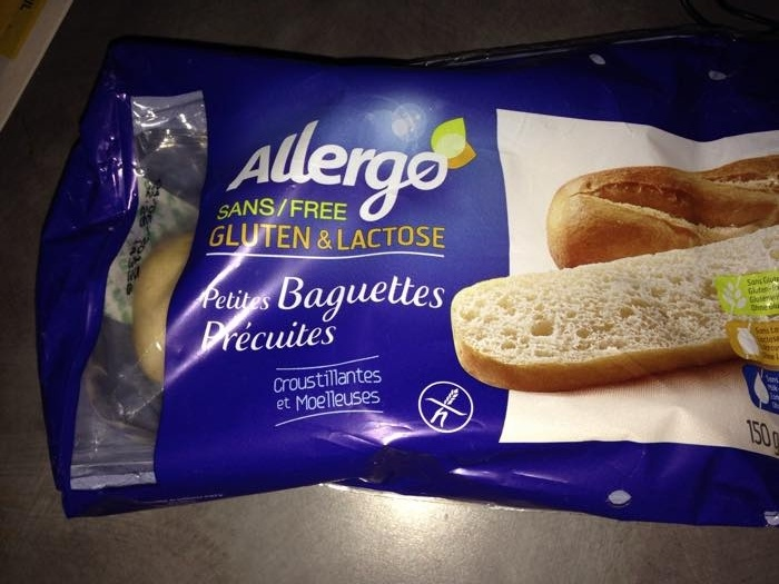 Petites Baguettes Précuites - Produit