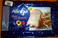 Pain aux graines Allergo sans gluten - Product - fr
