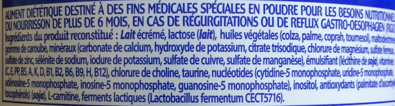 Picot Lait Ar 2eme Age 900G (Anciennement Nutrilon Ar 2) - Ingrédients