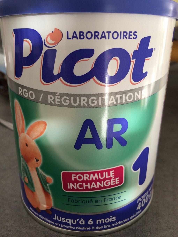 Lait Ar Anti Régurgitations 1er Age De 0 à 6 Mois Picot Ar - Product - fr
