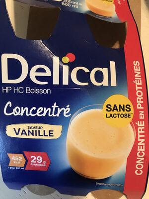 Delical Sans Lactose Vanille - Produit - fr