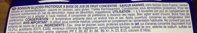 Boisson Fruité - Ingrediënten