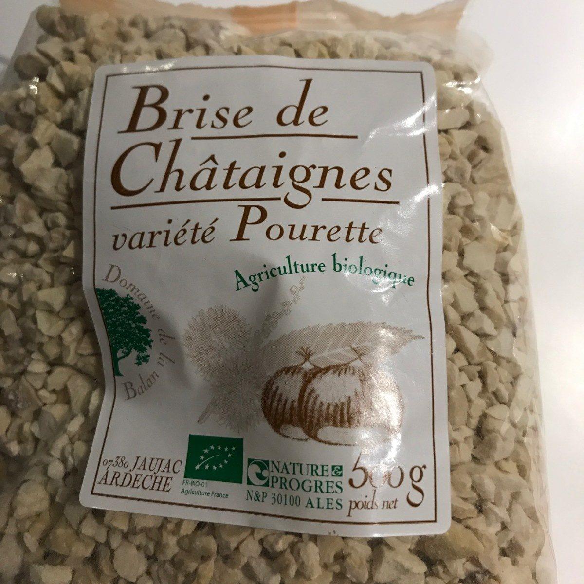 Brise de Châtaignes variété Pourette - Produit