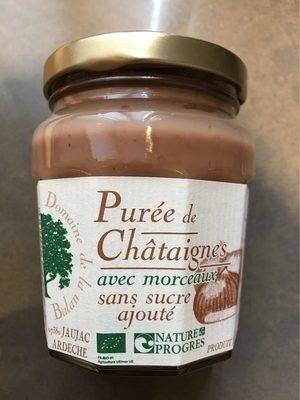 Purée de Châtaignes - Produit - fr