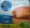 Burger de la mer - Colin d'alaska - Product