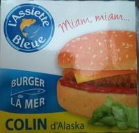 Burger de la mer - Colin d'alaska - Produit