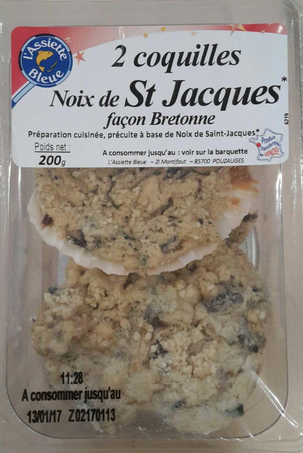Noix de St Jacques façon Bretonne - Product - fr