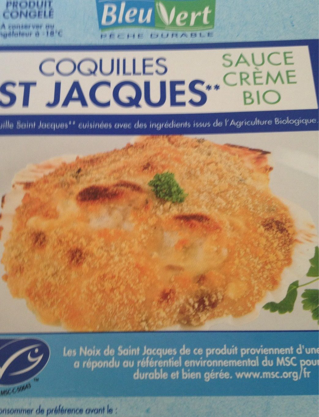 Coquilles st jacques - Product
