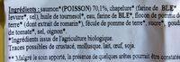 Nuggets de saumon - Ingrediënten - fr