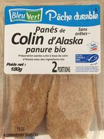 Panés de colin d'alaska - Product - fr