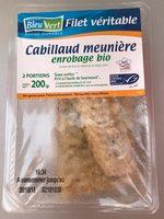 Cabillaud meuniere - Product - fr