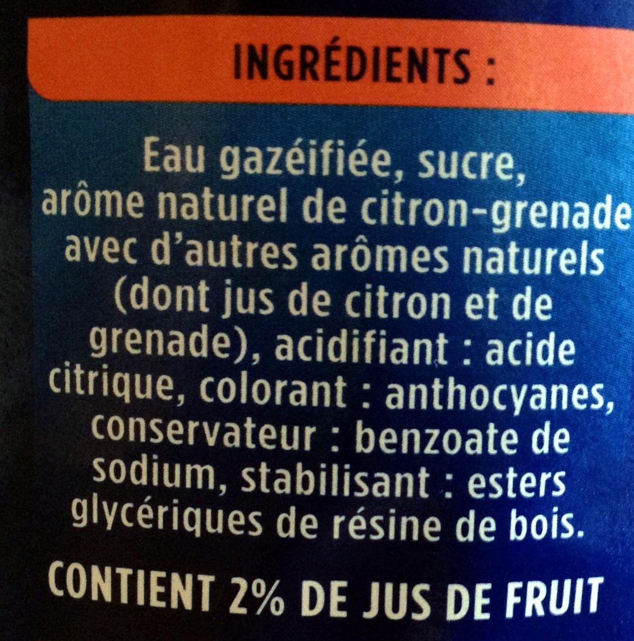 La Grenade - Inhaltsstoffe - fr