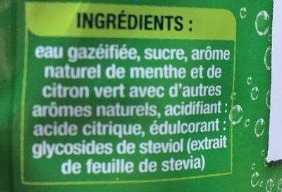 Lorina mojito - Ingredients