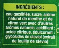 Lorina mojito - Ingrédients - fr