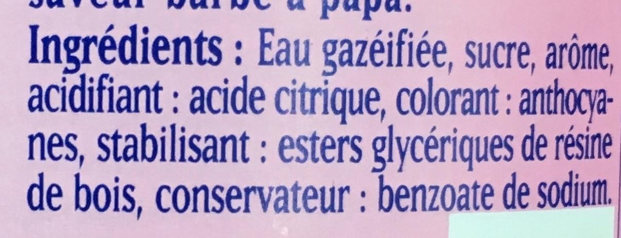 Barbe à Papa - Ingrédients - fr