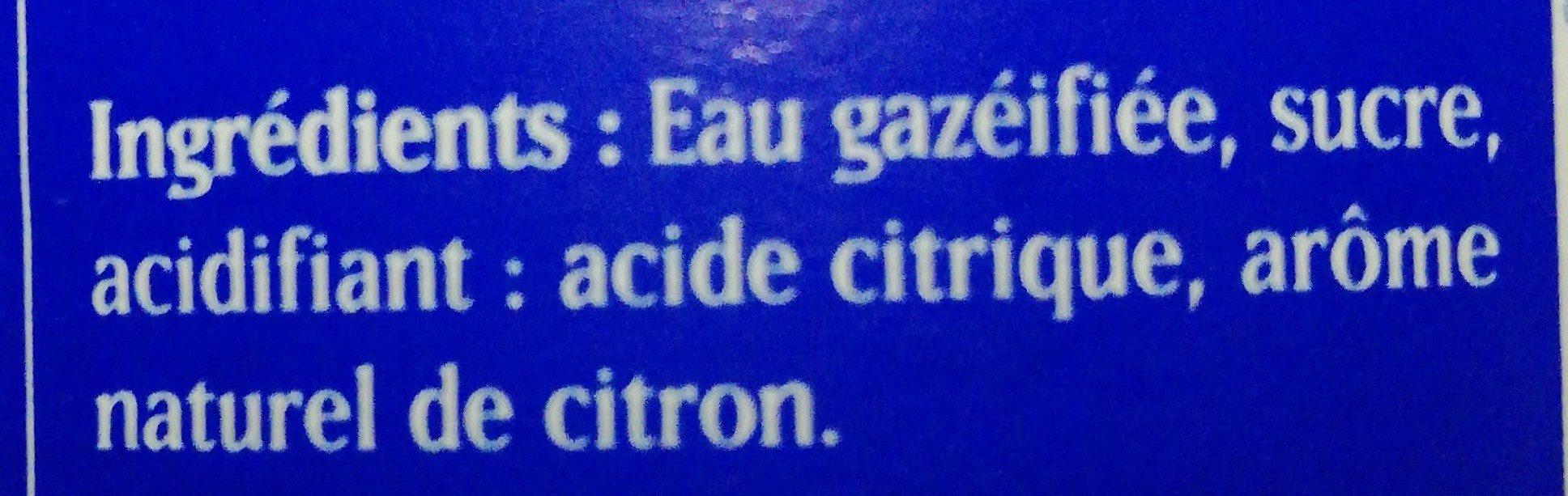 Limonade Artisanale - Ingredients