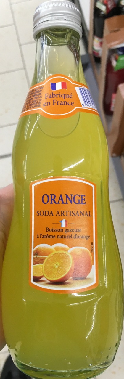 Orange Soda Artisanal - Product