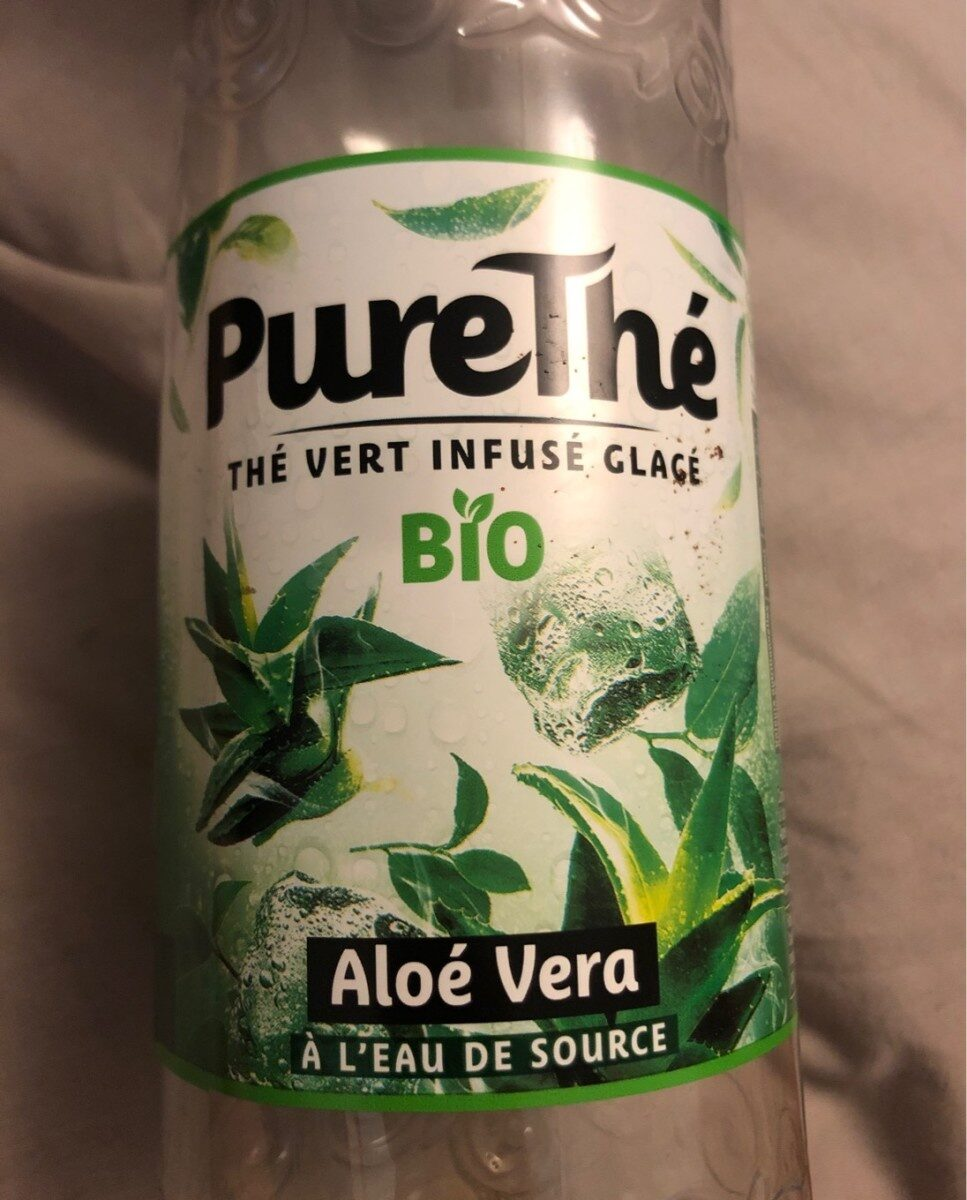 Thé vert infusé glacé aloé vera - Produit - fr