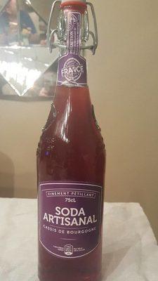 Soda artisanal cassis - Produit - fr