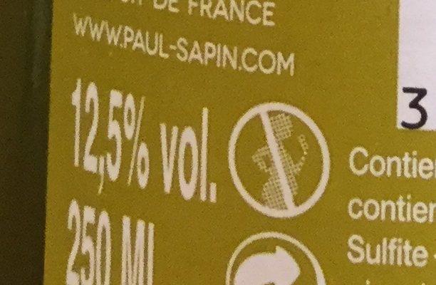 Sauvignon blanc - Voedingswaarden