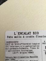 L'Encalat - Ingrediënten - fr