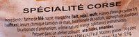 Canistrelli aux écorces d'oranges confites - Ingredients - fr