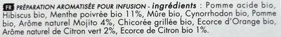 Crazy Mojito - Ingrediënten - fr