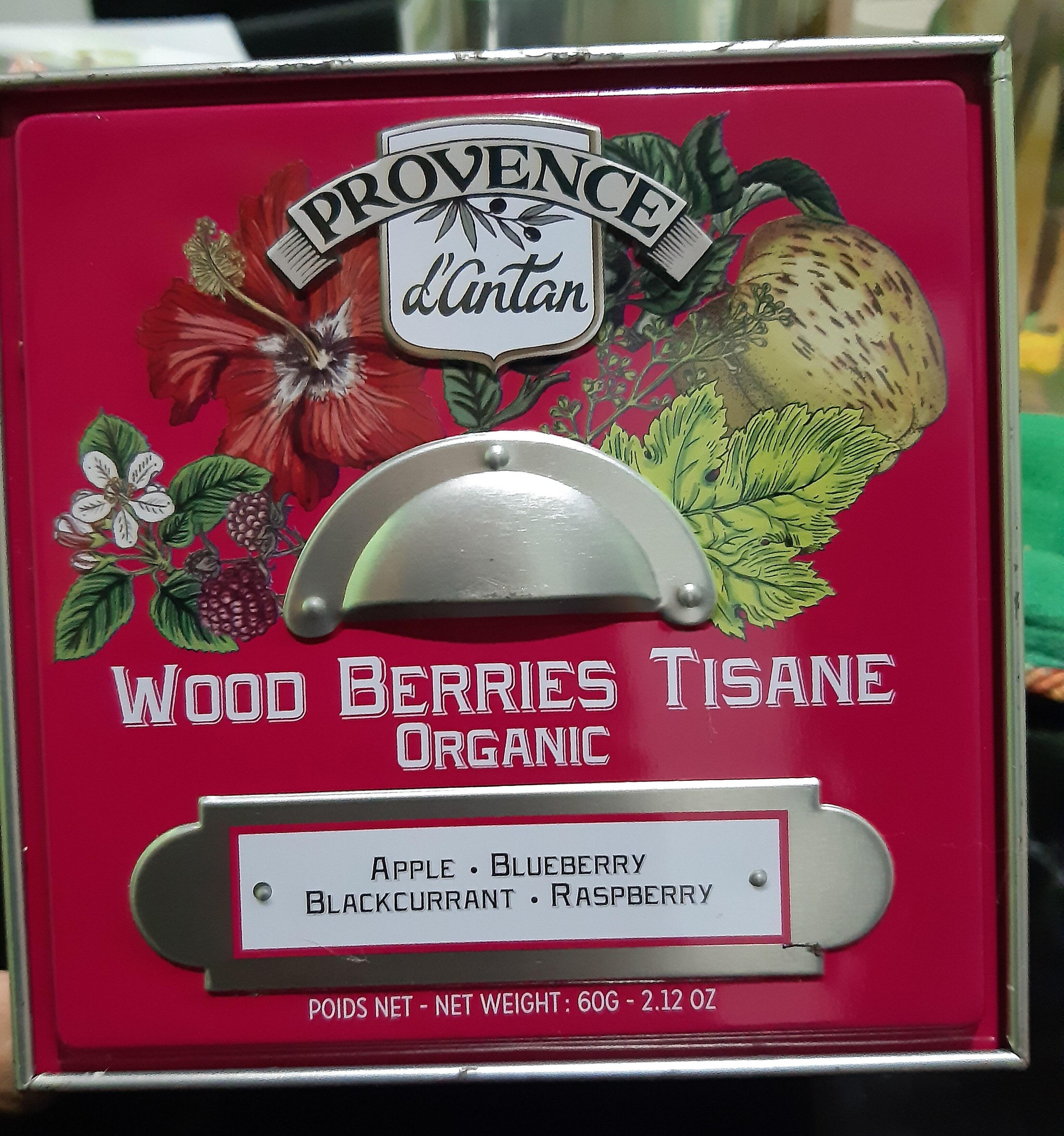 Tisana frutas del bosque Bio - Product - en