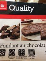 Fondant au Chocolat - Prodotto - fr