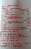 Sucre en poudre - Ingredients - fr