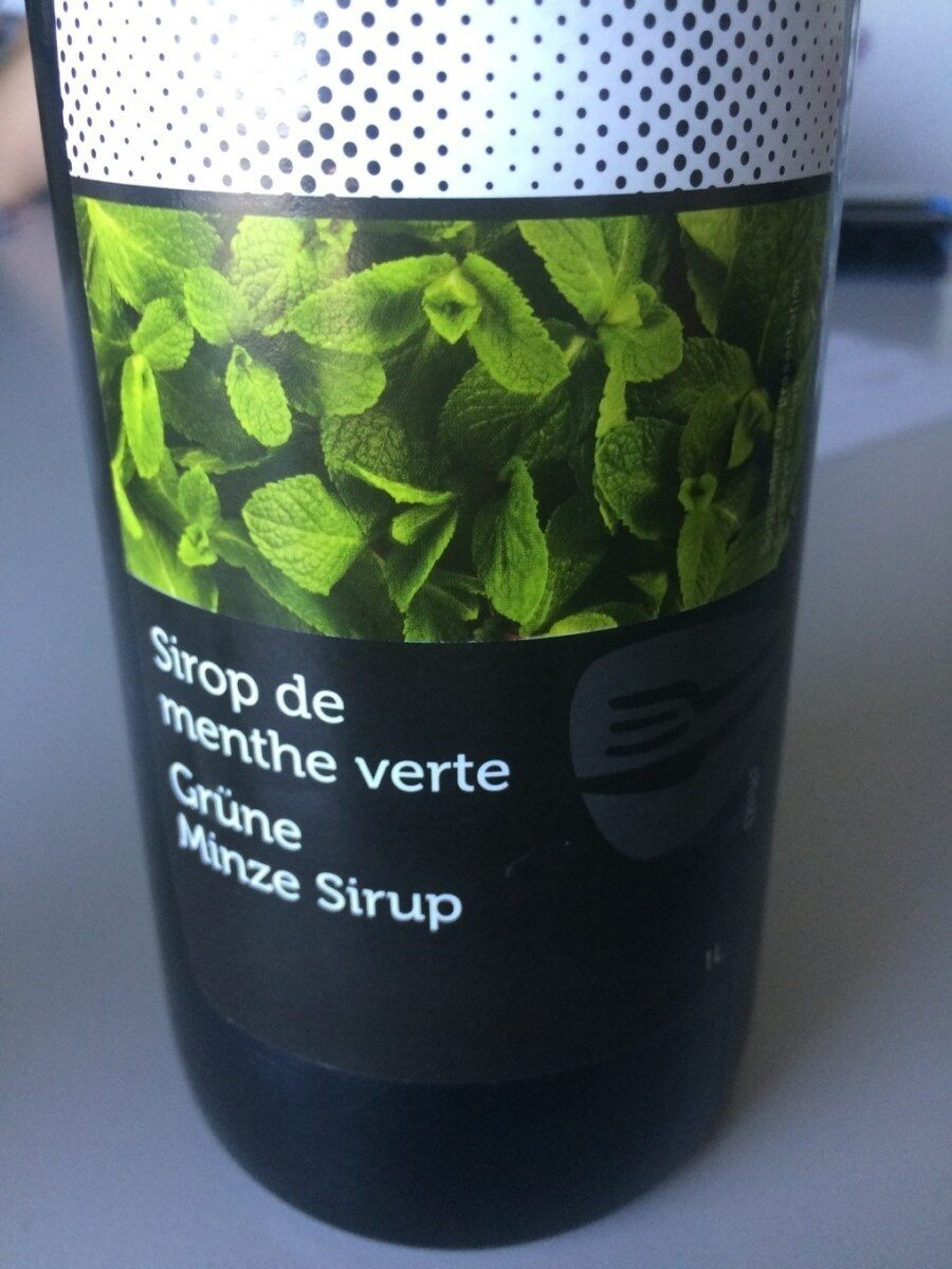 Sirop menthe - Product - fr
