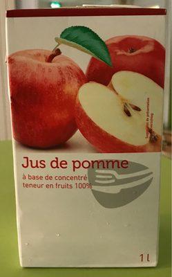 Jus de pomme à base de concentré - 1