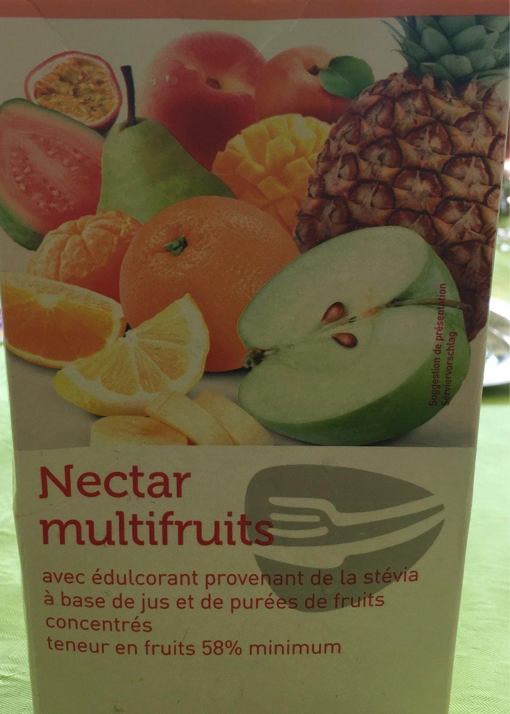 Nectar multifruits avec édulcorant provenant de la stévia à base de jus et de purées de fruits concentrés - Produkt - fr